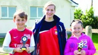 Over 90 children attended the Easter soccer camp at Charleville AFC ground in Moatville. Coach Maurice Farrell oversaw the running of the 3 day camp with assistant coaches Jason O'Hara,...