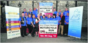 Organisers of the Mick O'Regan Memorial Cycle on August 8th pictured at its launch last week.