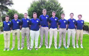 The Mallow U18 Fred Daly team which will compete in the All Ireland next Tuesday in Moyola Park Golf Club, Northern Ireland; Jack Dillon, Adam Walsh, Edward Walsh, Conor Roche, Greg Barrett, Roy Whelan, Eoin Ahern, Daniel O'Sullivan and Liam Dowling.