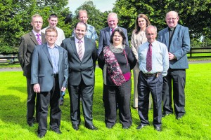 The Salesian Agricultural College, Pallaskenry, Co Limerick recently unveiled its new Board of Governors in advance of the upcoming academic year. Pictured are (front row from left) Fr. Paddy Hennessy, Provincial Economer, Salesians of Don Bosco, Chairman Dr. Edmond Harty, Dairymaster, Dr. Doreen Corridan, Munster AI, Mr. John Donworth, Teagasc, (back row from left) Mr. Derek O'Donoghue, Principal, Salesian Agricultural College, Mr. John Mullins, Dairy farmer & Macra representative, Mr. John Furey, Salesian Agricultural College Staff Representative, Mr. Richard Kennedy, Dairy Farmer, Ms. Aisling Meehan, Agri Solicitor & Fr. Dan Carroll, Rector Salesian Agricultural College. Photo O'Gorman Photography. No reproduction fee.