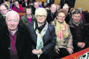 Eugene and Margaret Casey with Mary and Pat Flynn. George Daly Newcastle West and District Lions Club Christmas Concert