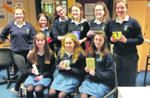 Happy winners of Mr O'Connor's Kahoot Challenge at St mary's during History Week.