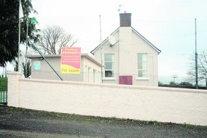 Glenroe National School which now up for lease.