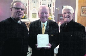 Fr. Albert McDonnell, Christy O'Connor and Fr. Michael O'Grady.