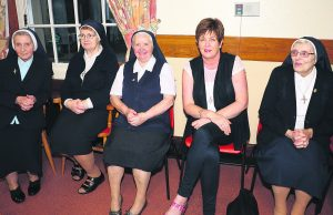 Sr Cataldus, Sr Kathleen, Sr Bridget, Hannah Sexton and Sr Eileen pictured at Nazareth House for the launch of a lottery to raise funds for the Nazareth House Building Project.