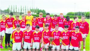 Mallow U14 hurlers pictured after their victory over Ballygiblin in last Saturday's North Cork League Final.