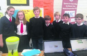 Analeentha NS pupils at the Maths and Science Fair last year.