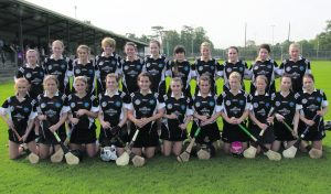 Granagh/Ballingarry Senior Camogie team. Eamonn Walshe County Senior Camogie Final in Ncw