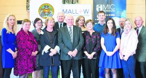 Pictured at the launch of the Maths & Science Schools Initiative are primary school principals and teachers from the North Cork area on the 5th October.