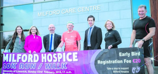 Phonsie Clifford, the remarkable 88-year old marathon man and somebody who is determined to keep on running, recently launched Milford Hospice's Annual 10km fundraising event. Phonsie is something of a […]