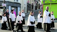 Due to Covid-19 restrictions, the annual Eucharistic Procession cannot take place in its familiar form this year. To celebrate the feast of Corpus Christi (Body of Christ) today, Thursday June […]