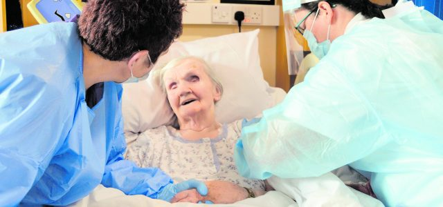 101-year-old Bridget (Biddy) Connolly from Meanus has become the first resident at St Ita's Community Nursing Unit in Newcastle West to be vaccinated against COVID-19. She got the vaccine alongside […]